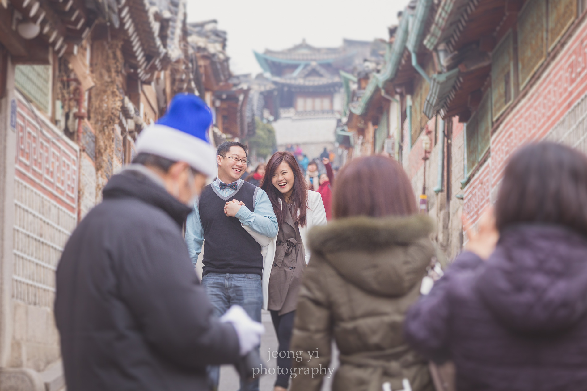 engagement photos in Korea
